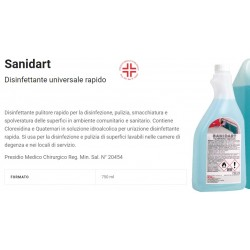 DET. SANIDART 750 ml PRONTO USO PMC DETSAN7