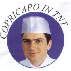 CAPPEL.CUOCO BUSTINA TNT bianco100pz 4785