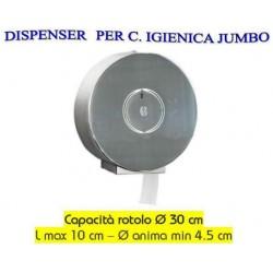 DISPENSER acciaio inox P/IGIEN.JUMBO CAIJDI