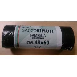 SACCO 48x60 NERO pz.20 extraforti SAICNEX