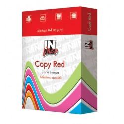 CARTA BN A4 80g 500fg COPY RED 10085